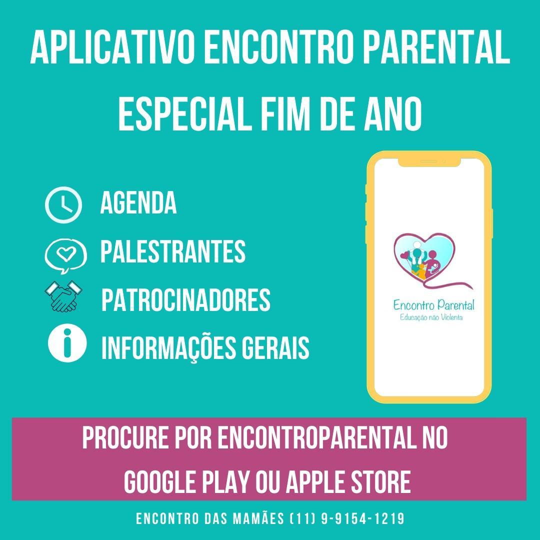 Baixe o App do Encontro parental e faça sua pergunta.