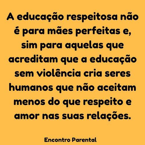 Educação sem violência